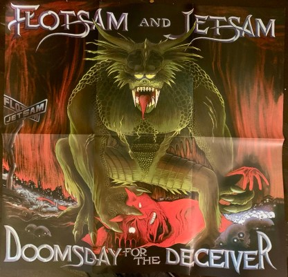 Flotsam And Jetsam ‎– Doomsday For The Deceiver
