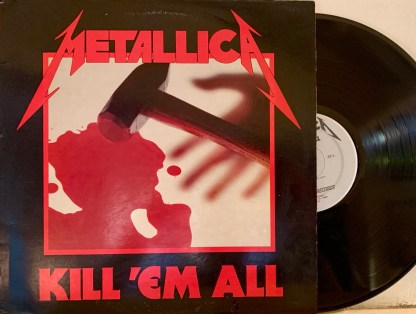 Metallica kill 'em all lp