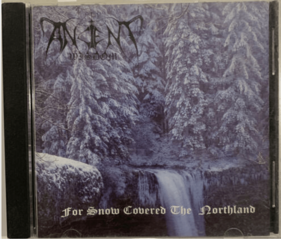 9. Ancient Wisdom - For Snow Covered The Northland CD 1996 Avantgarde Music