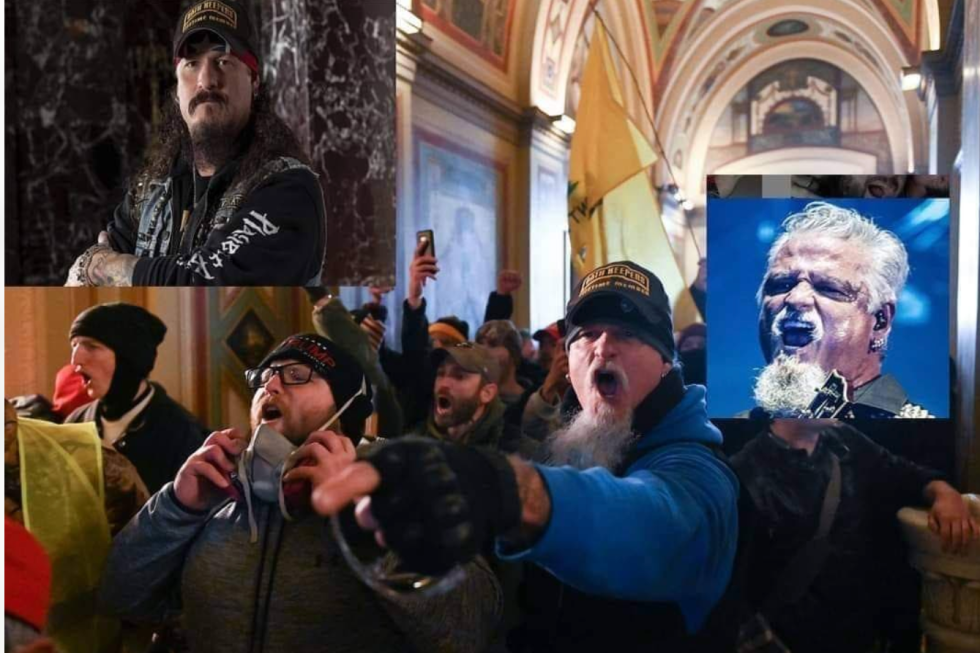 Iced Earth Guitarist Jon Schaffer Involved In US Capitol Riots