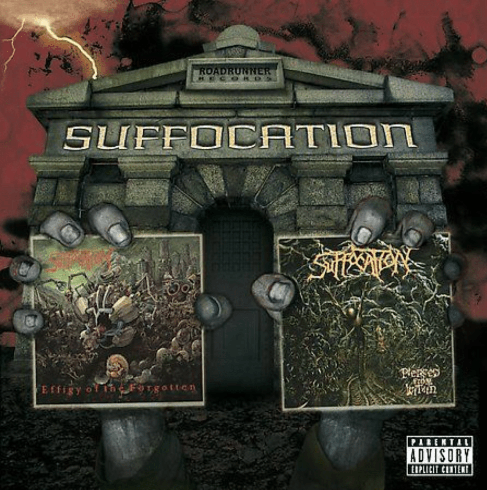 8. Suffocation - Effigy of the Forgotten/Pierced from Within CD 2003 Roadrunner