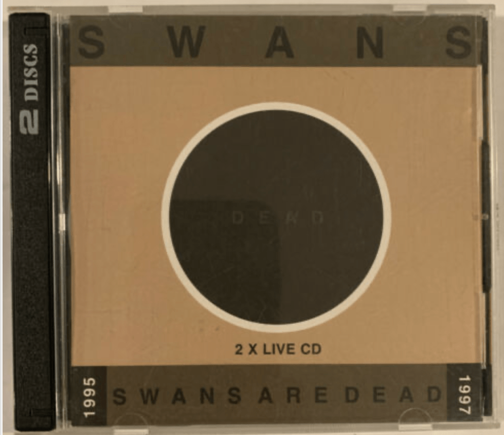 3. Swans ‎– Swans Are Dead CD 1998 Young God Records ‎– YG03