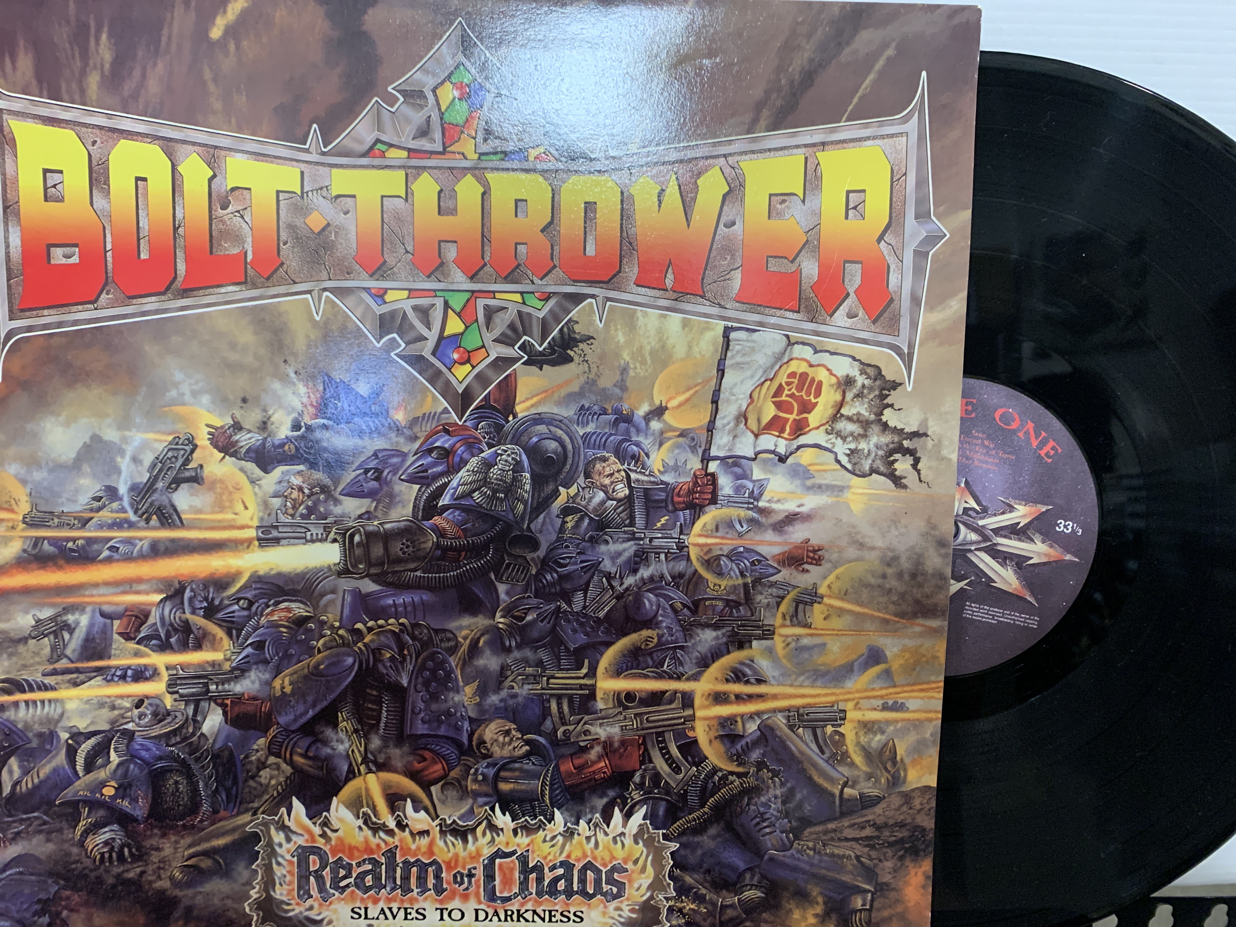 Killer New First Press UK Thrash Metal Collection I Just Bought
