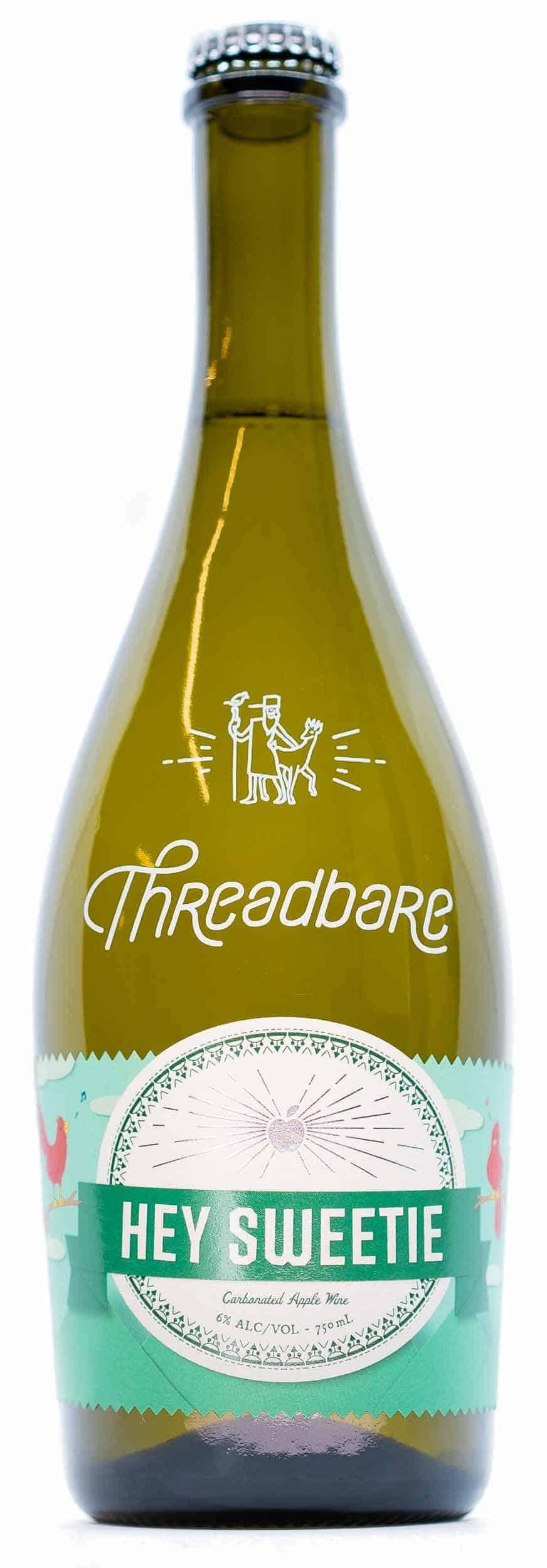 Threadbare Cider House Hey Sweetie Cider Bottle