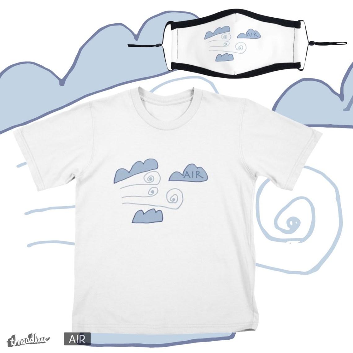 Ancient Air , a cool t-shirt design