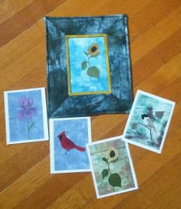 Beginner workshop samples by Bridget O'Flaherty