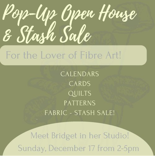 Open House & Stash Sale