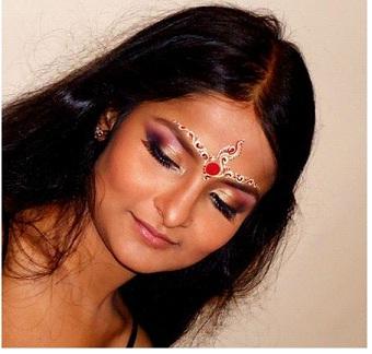 Bengali Bridal Makeup Chandan Designs Makeup Vidalondon