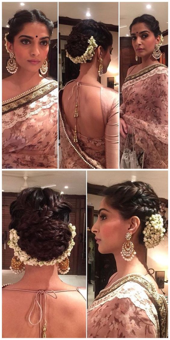 Taking Inspiration From Sonam Kapoors Hairstyle Threads