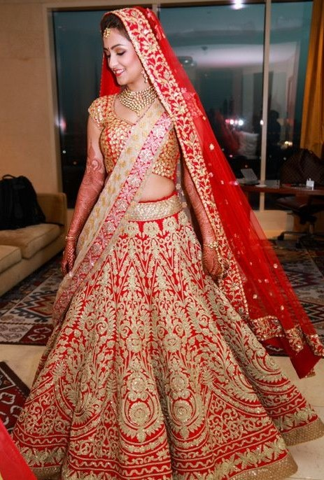How To Wear Red Bridal Lehngas | Fashion in India - Threads