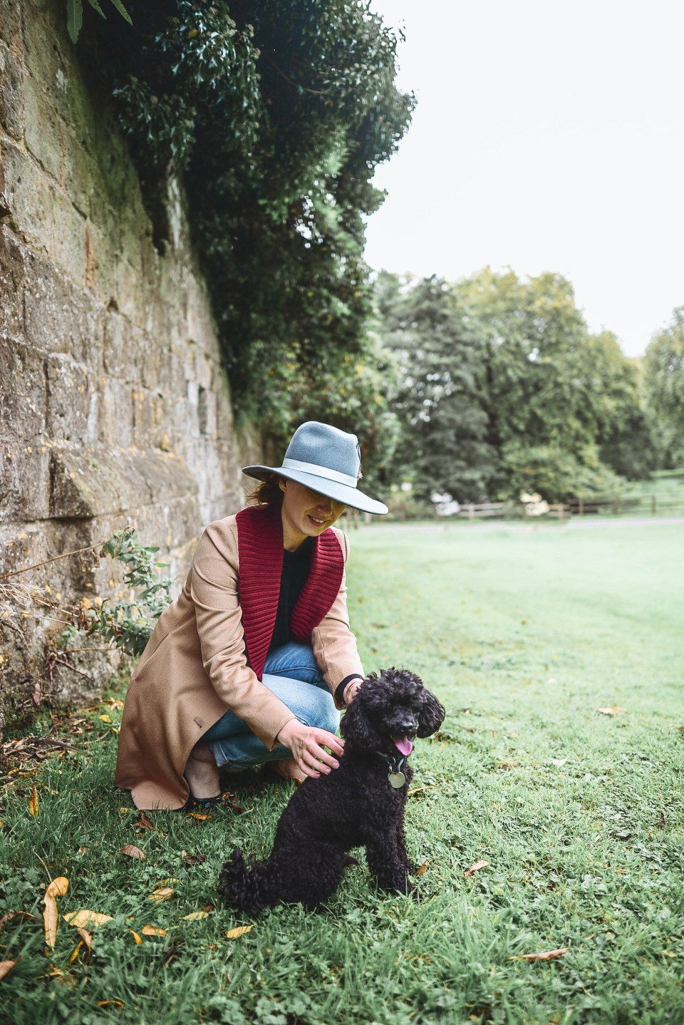English Countryside walk to Old Wardour Castle