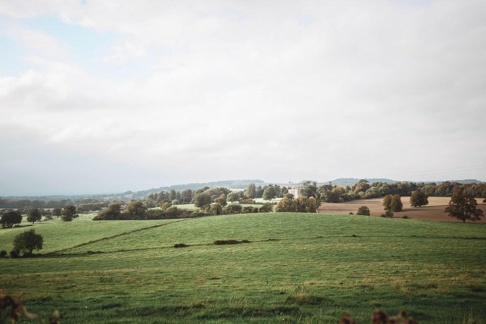 English Countryside - New Wardour Castle