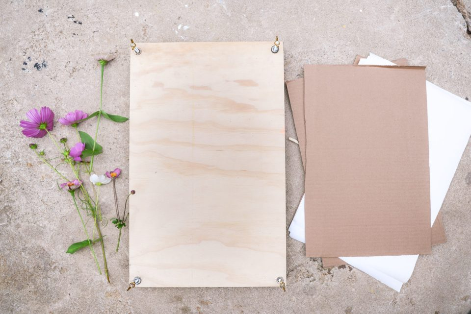 How to Make a Flower Press | Pressed Flowers