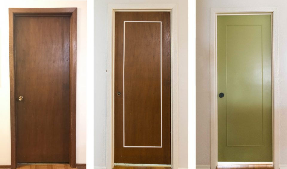 Hallway Makeover | Add Trim to Doors | Door Retrofit | Add Panelling to Doors