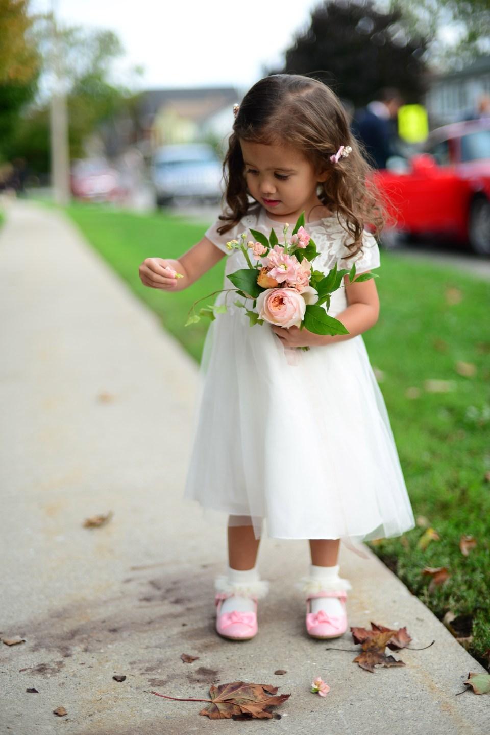 Flower Girl Bouquet   Flower Girl   Niagara Wedding Florist