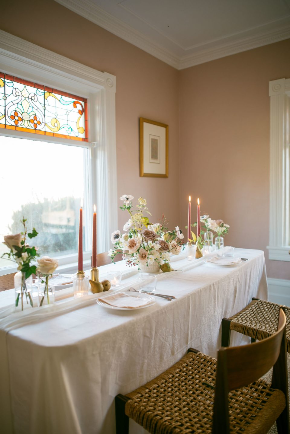 Centrepieces for Rectangular Tables | Wedding Centrepieces | Wedding Tablescape