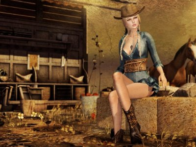 Angry Cowgirl