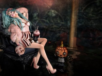 Zenith Halloween Dress Gacha - The Epiphany