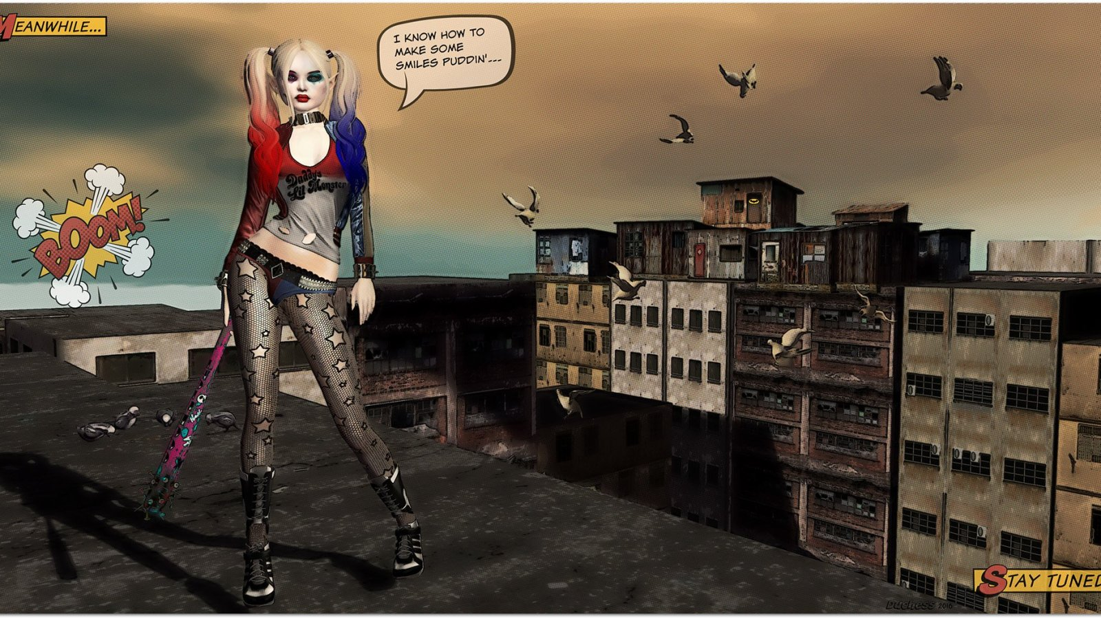 Daddy's Lil' Monster ~ Harley Quinn