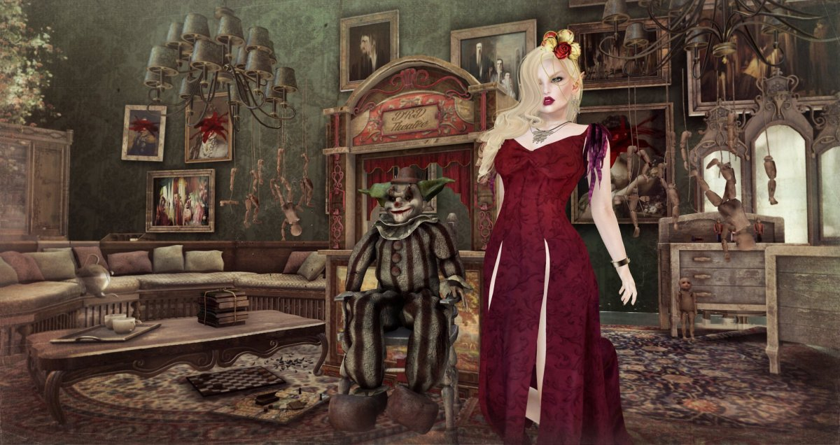 Mistress of the Haunted House