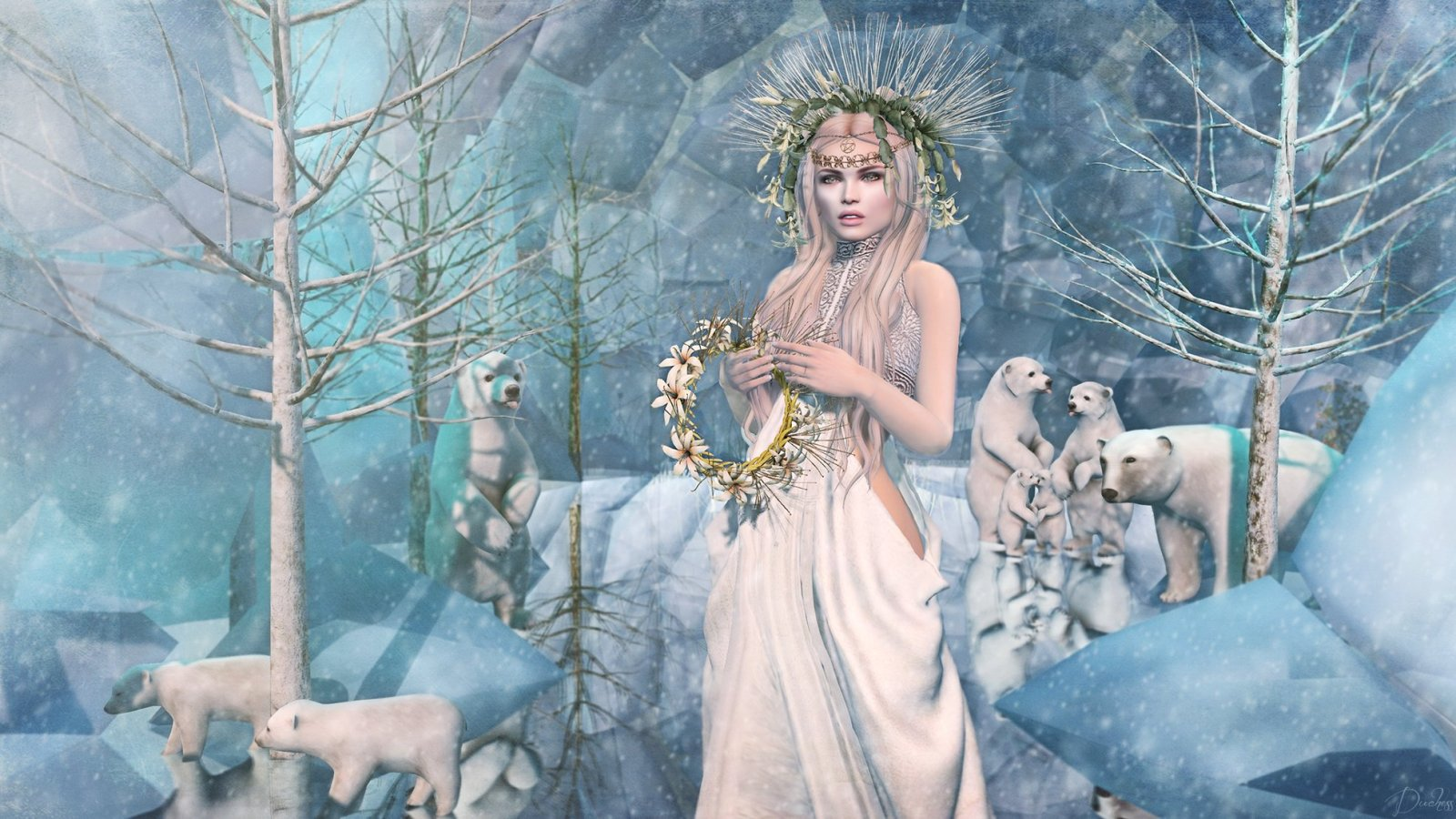 A Winter Solstice in the Mystic Realms