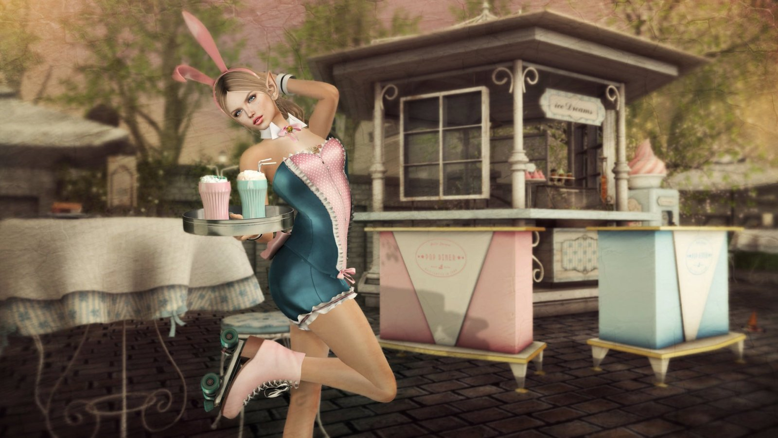 Bunny Waitress