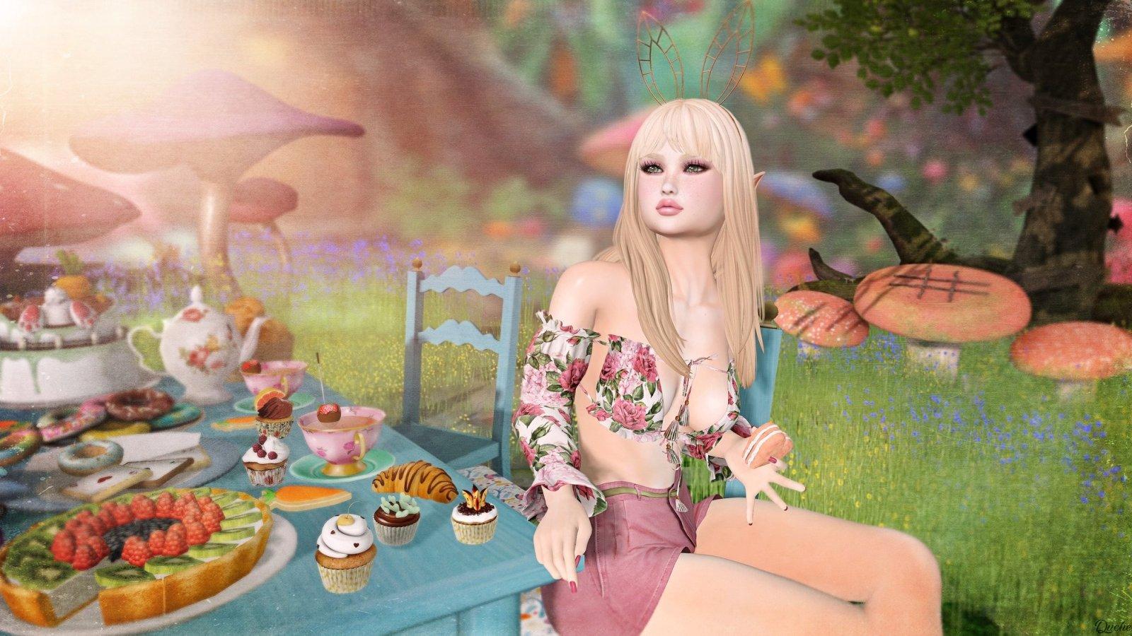 Scarlett's Tea Party