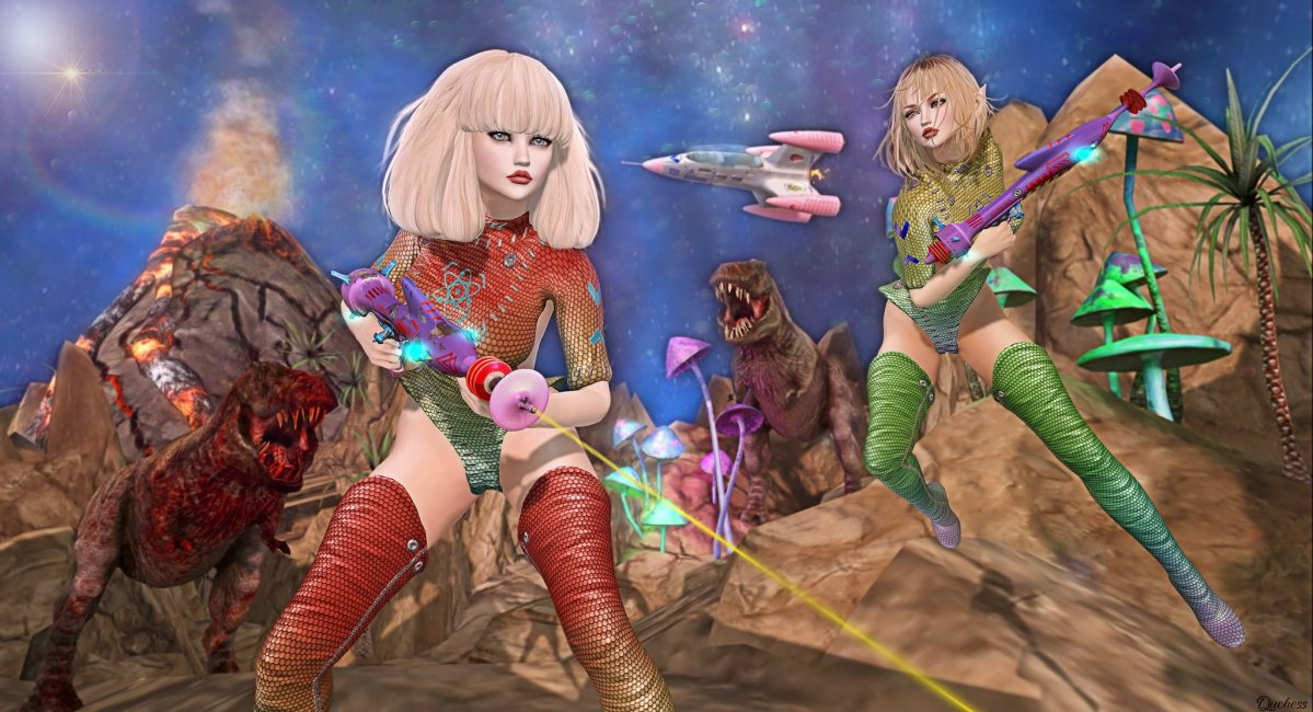 Vixens in Outer Space