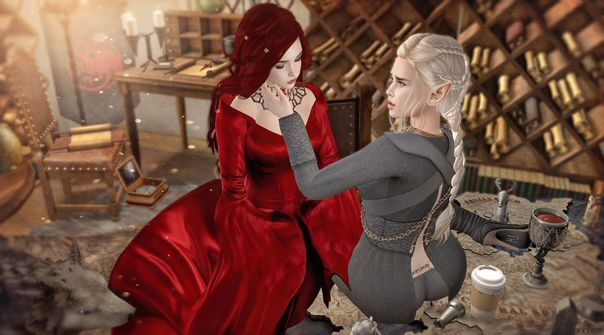 Red Woman and Mad Queen