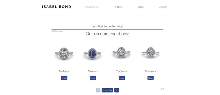 Ring Match Service Options at Isabel Bond - Engagement Ring Shopping Valentines Day