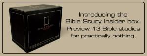 Bible Study Insider