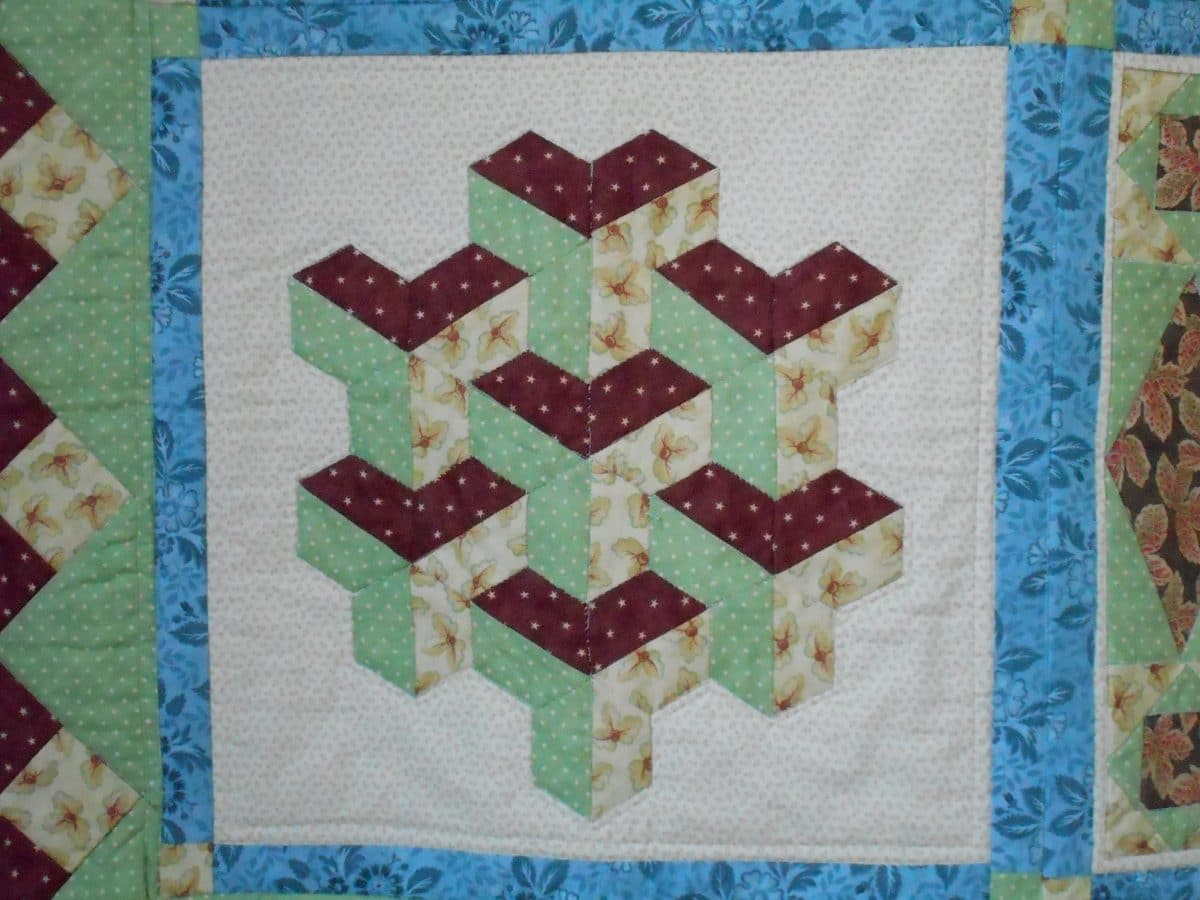 Pyramid Patchwork Pattern