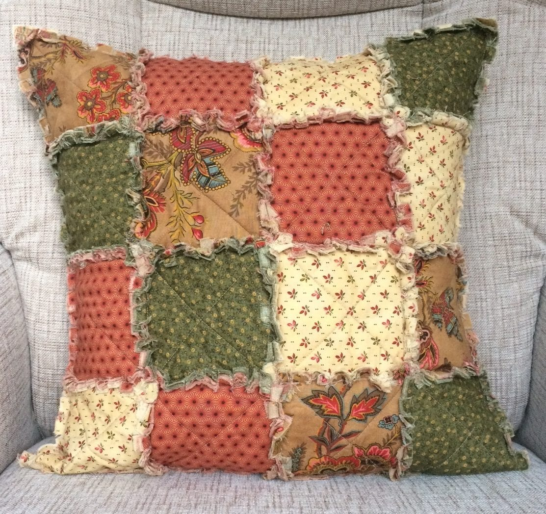 Make a Raggedy Cushion
