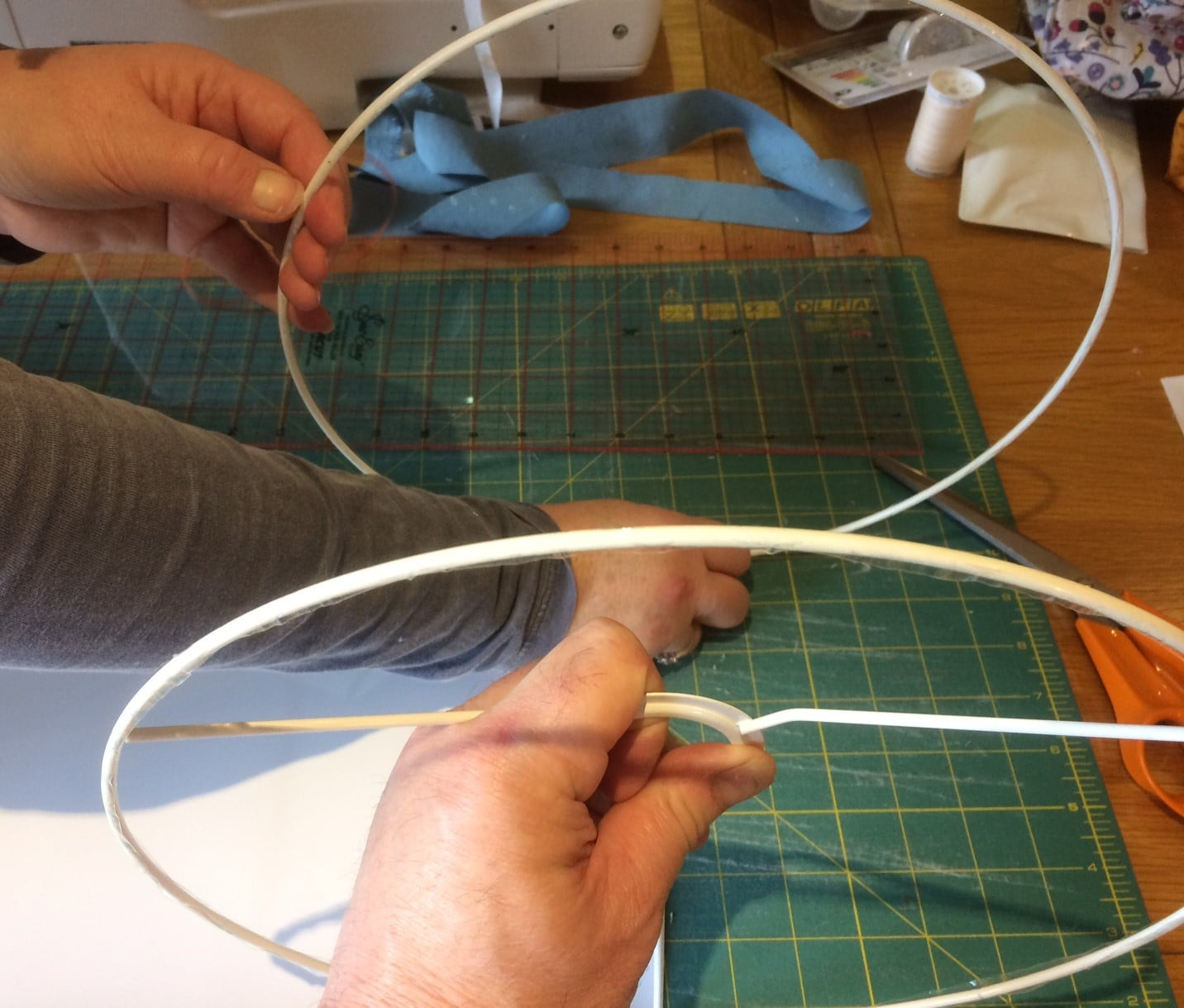 Making a Lampshade