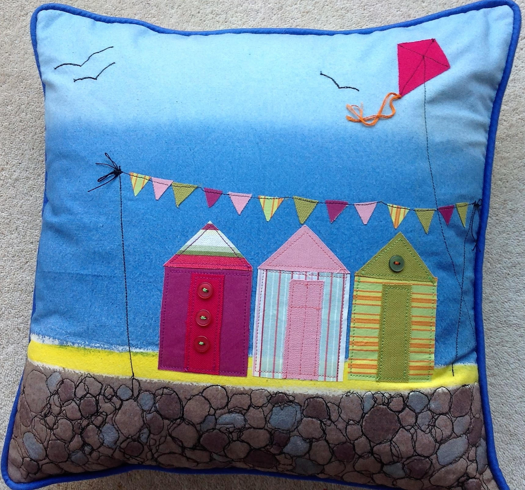 Summer Holidays Cushion