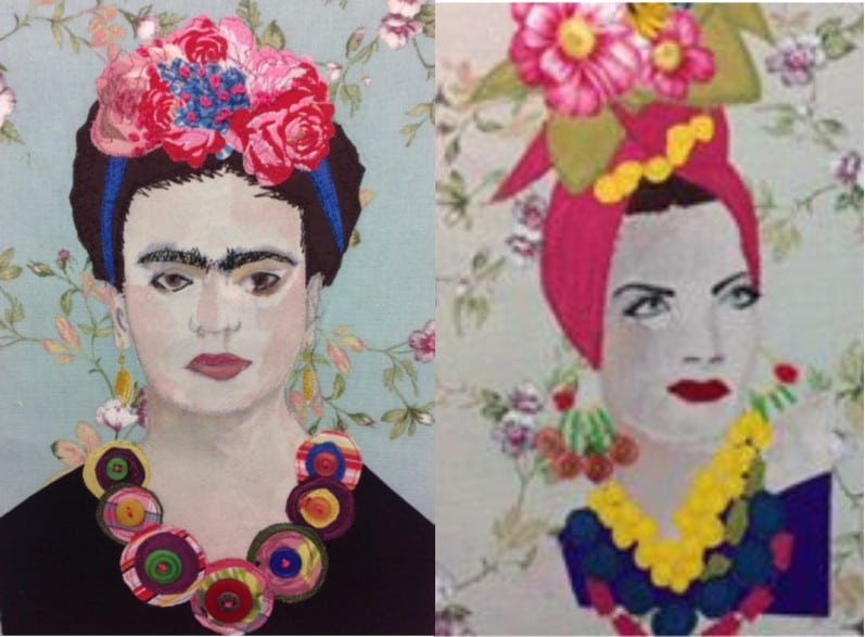 'Freda & Co' (female icons in stitch)