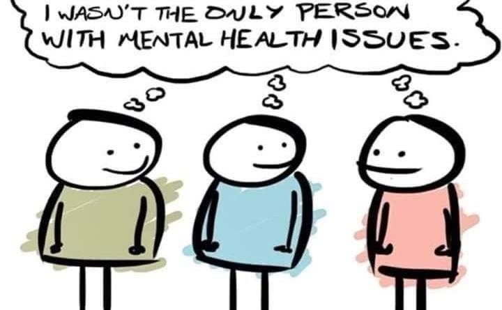 Those with mental illness often, and wrongly, assume they are alone.