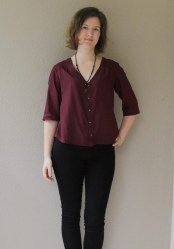 Camas Blouse.Thread Theory.Swing and Sew