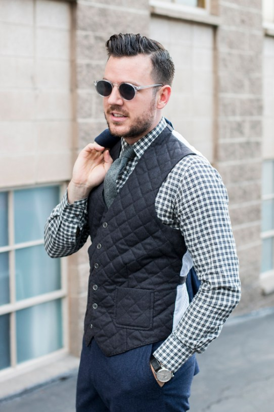 Waistcoat with patch pockets 2