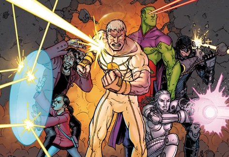 DC Comics New 52 COLLECTED Reviews Demon Knights