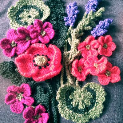 Knit flowers, Crochet flowers Yarn flowers, Yarn Bouquet