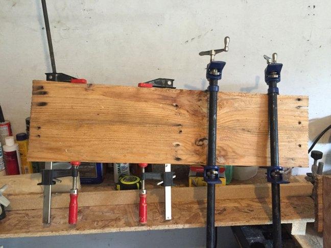 Pallete Wood Skateboard Build