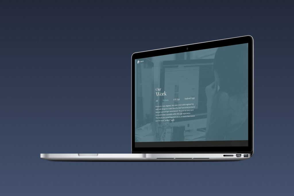 sneak peek of the new site