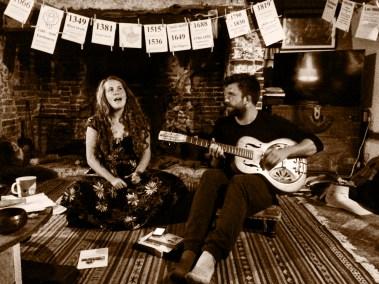 Kathleen sings with Nick