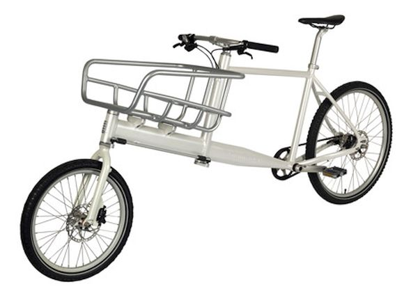 KiBiCi's lightweight cargo bike