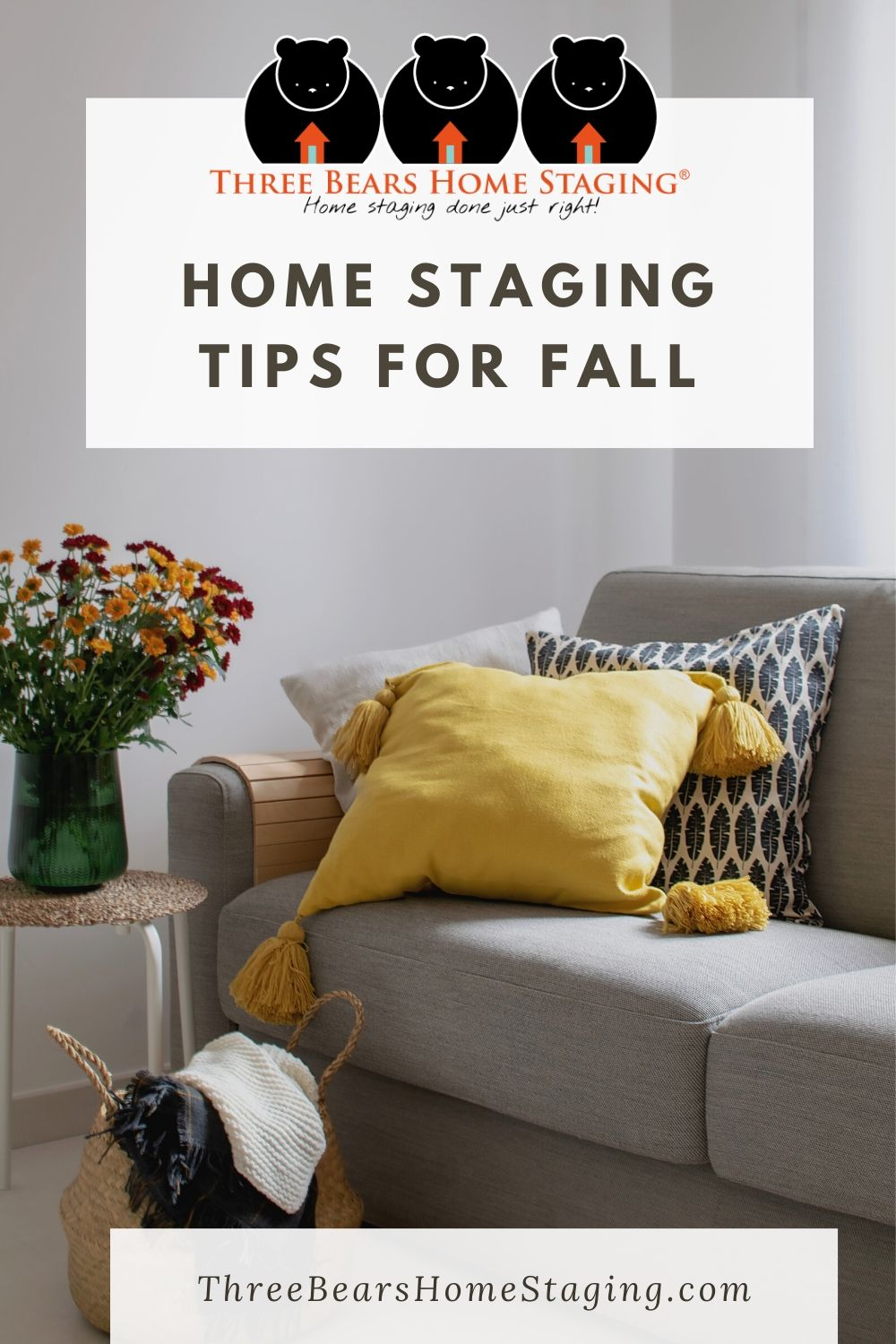 home staging tips fall