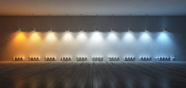 kelvin-scale light bulb