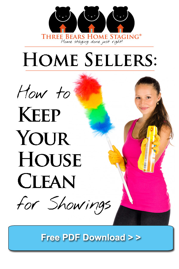 house clean showings