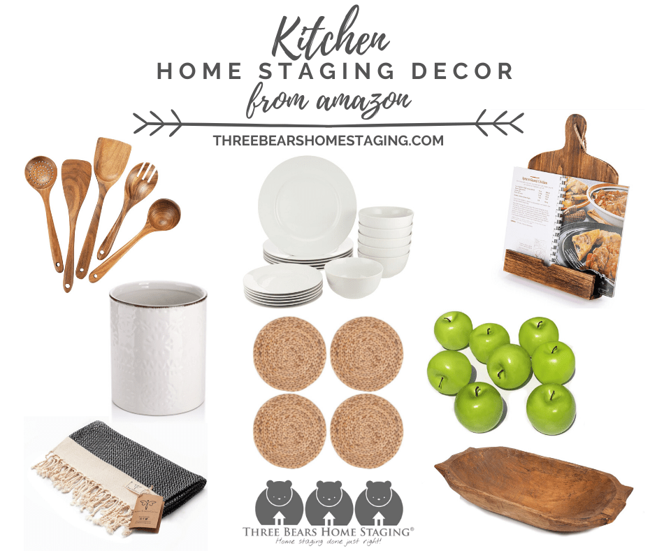 Kitchen Home Staging Decor Three Bears Home Staging