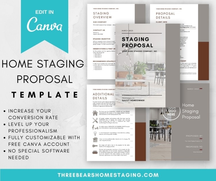 home staging proposal